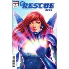 2020 Rescue # 1B Variant Jen Bartel Cover
