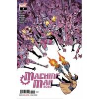 2020 Machine Man # 2A Regular Nick Roche Cover