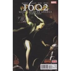 1602: Witch Hunter Angela # 3A Stephanie Hans Regular Cover