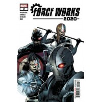 2020 Force Works # 2A Regular Juanan Ramirez Cover