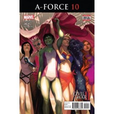 A-Force, Vol. 2 # 10A Regular Stephanie Hans Cover