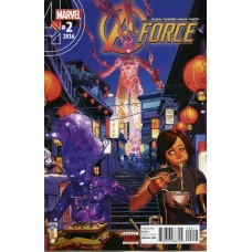 A-Force, Vol. 2 # 2A Regular Jorge Molina Cover