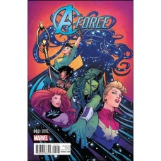 A-Force, Vol. 2 # 2B Incentive Joelle Jones Variant Cover