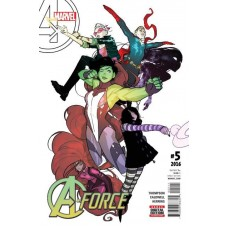 A-Force, Vol. 2 # 5A Regular Ben Caldwell Cover