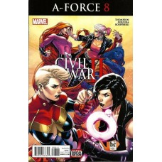 A-Force, Vol. 2 # 8A