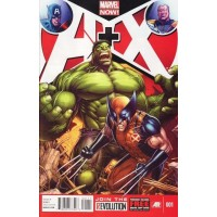 A+X # 1A Regular Dale Keown Cover