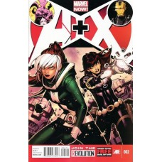 A+X # 2A Regular Kaare Andrews Cover