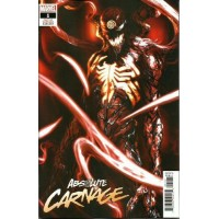 Absolute Carnage # 1H Cult of Carnage 1:25 Variant Cover