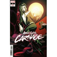 Absolute Carnage # 2F Incentive Kris Anka Cult Of Carnage Variant Cover