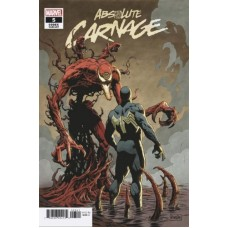 Absolute Carnage # 5D Incentive Paolo Rivera Codex Variant Cover