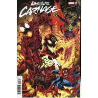 Absolute Carnage # 5F Incentive Mark Bagley Cult Of Carnage Variant Cover