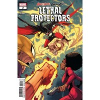 Absolute Carnage: Lethal Protectors # 2A Regular Iban Coello Cover