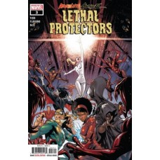 Absolute Carnage: Lethal Protectors # 3A Regular Iban Coello Cover