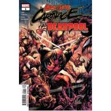 Absolute Carnage Vs Deadpool # 1A Regular Tyler Kirkham Cover