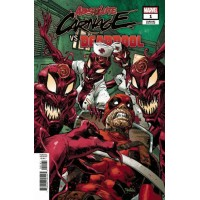 Absolute Carnage Vs Deadpool # 1F Variant Dan Panosian Cover