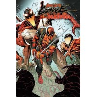 Absolute Carnage Vs Deadpool # 2C Variant Rob Liefeld Connecting Cover