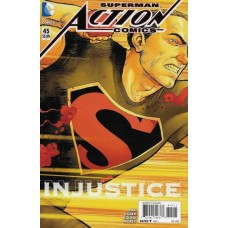 Action Comics, Vol. 2 # 45A Aaron Kuder Regular Cover