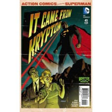 Action Comics, Vol. 2 # 45B Dave Johnson Monsters of the Month Variant Cover