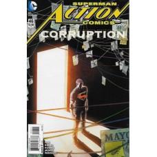 Action Comics, Vol. 2 # 46A Aaron Kuder Regular Cover