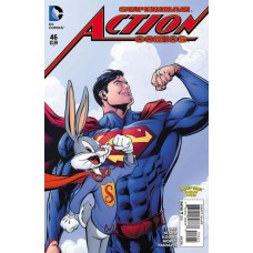 Action Comics, Vol. 2 # 46B Looney Tunes Variant Cover