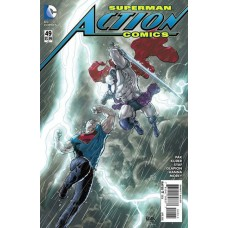 Action Comics, Vol. 2 # 49A Aaron Kuder Regular Cover