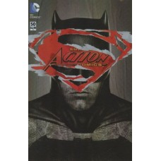 Action Comics, Vol. 2 # 50B Variant Martin Ansin Batman v Superman Dawn Of Justice Cover With Polybag