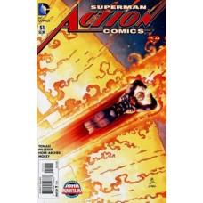 Action Comics, Vol. 2 # 51B Variant John Romita Jr Cover