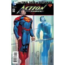 Action Comics, Vol. 2 # 52A Regular John Romita Jr Cover