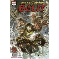 Age of Conan: Bêlit, Queen Of The Black Coast # 3A Regular Sana Takeda Cover