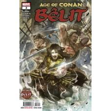 Age of Conan: Bêlit, Queen Of The Black Coast # 3A Regular Sana Takeda Cover