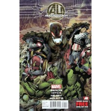 Age of Ultron # 1A Regular Bryan Hitch Foil Cover