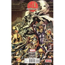 Age of Ultron # 2A Regular Bryan Hitch Cover