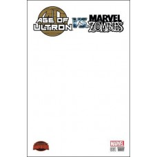 Age of Ultron vs. Marvel Zombies # 1E Blank Cover