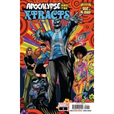 Age of X-Man: Apocalypse and the X-Tracts # 1A Regular Gerardo Sandoval Cover