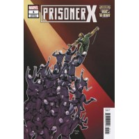 Age of X-Man: Prisoner X # 1D Incentive Will Sliney Variant Cover
