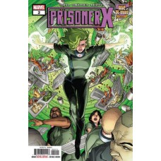 Age of X-Man: Prisoner X # 2A Regular Patrick Zircher Cover