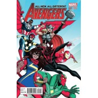 All-New, All-Different Avengers, Vol. 1 # 1K 1:20 Luciano Vecchio Variant