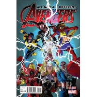 All-New, All-Different Avengers, Vol. 1 # 2B 1:25 Oscar Jimenez Variant Cover