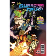 All-New Guardians of the Galaxy # 1A Regular Aaron Kuder Cover
