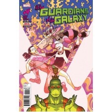 All-New Guardians of the Galaxy # 4A Regular Aaron Kuder Cover