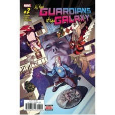 All-New Guardians of the Galaxy # 2A Regular Aaron Kuder Cover