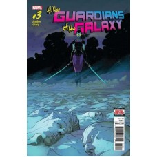 All-New Guardians of the Galaxy # 3A Regular Aaron Kuder Cover
