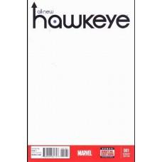 All-New Hawkeye, Vol. 1 # 1B Blank Cover
