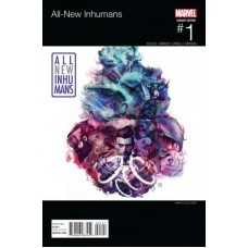 All-New Inhumans # 1D Marco D'Alfonso Cover Hip-Hop Variant