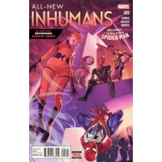 All-New Inhumans # 5A Jamal Campbell Regular Cover