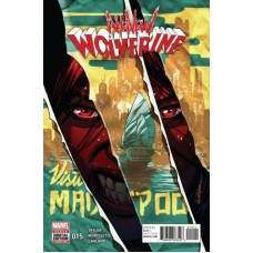 All-New Wolverine # 15A Regular David Lopez Cover
