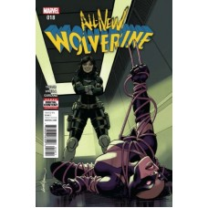 All-New Wolverine # 18A Regular David Lopez Cover