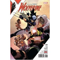 All-New Wolverine # 22A Regular Leinil Francis Yu Cover