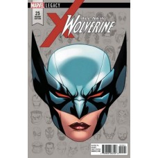 All-New Wolverine # 25D Incentive Mike McKone Legacy Headshot Variant Cover
