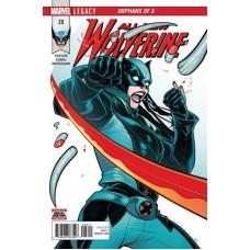 All-New Wolverine # 28A Regular Elizabeth Torque Cover